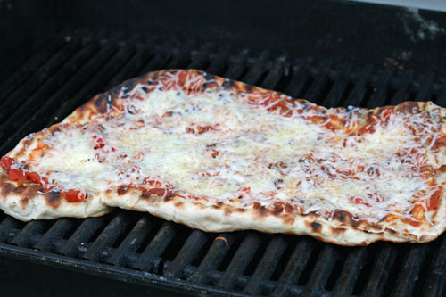 Grilled Nacho Pizza Recipe: A Pictorial