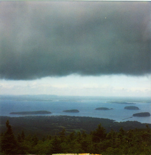 storm over acadia