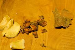 ginger, anise, cinnamon
