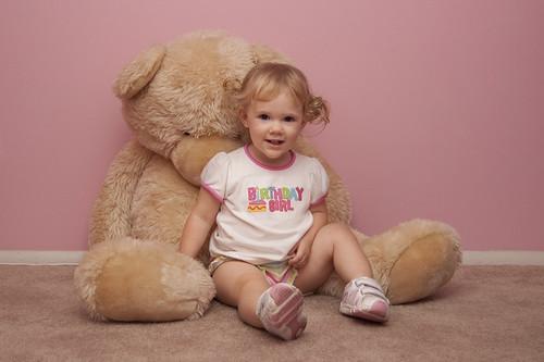 Ella & bear @ 2