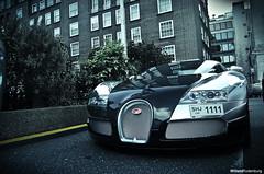 Bugatti Veyron 16:4 (Willem Rodenburg) Tags: uk 2 3 money black colour london tower photoshop silve