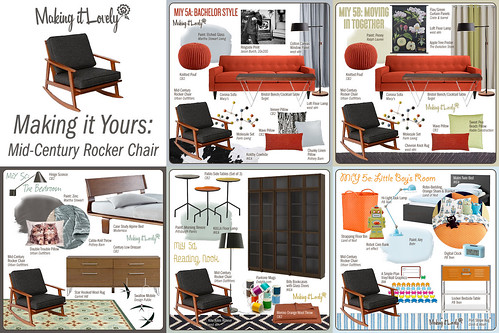 MiY 5: Mid-Century Rocker Chair Summary
