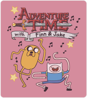 Adventure Time T-Shirt Art: Finn & Jake