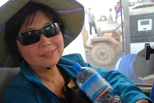 k10 - Chunlin on the Bus to Huángshān