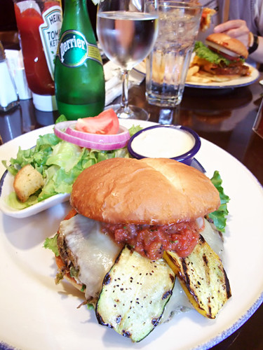 veggie burger - Hard Rock Cafe