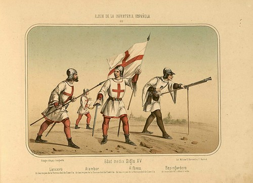 005- Álbum de la Infantería Española..-1861- conde de Clonard
