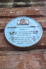 Photo of Henry III blue plaque