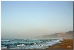 sunrise - 4 (the end) (e_velo ()) Tags: summer paisajes sunrise landscapes mediterraneo panasonic verano beaches playas 2010 estiu paisatges castelldefels platges mediterrani dmcfs3