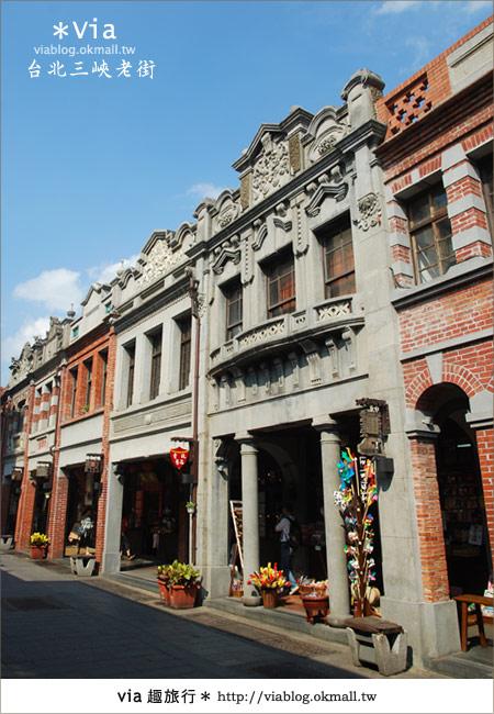 【台北景點】走入台北古味老鎮~三峽老街之旅14