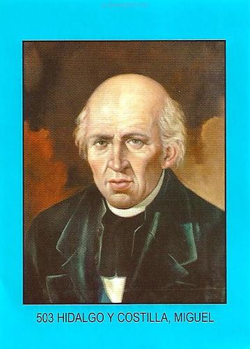 Estampa de Miguel Hidalgo y Costilla