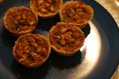 Mini Pine Nut and Currant Tarts