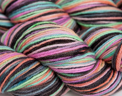 50% HC$- World of Illusion on Spirit Orgainc Merino Worsted 4 oz. (...a time to dye)