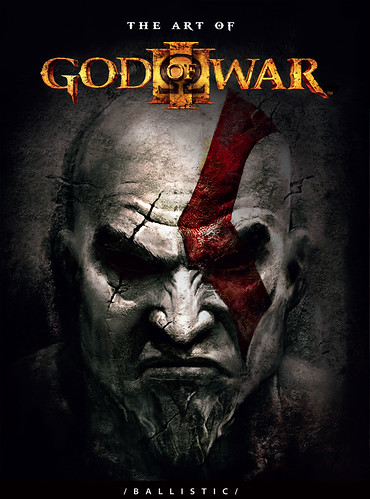 The Art of God of War III cover