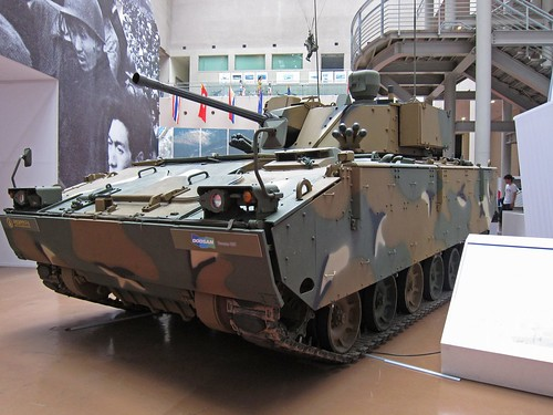 South Korean K21 Infantry fighting vehicle