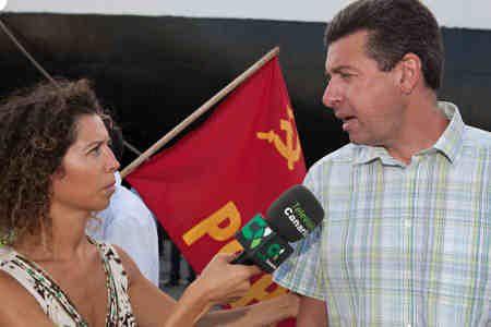 PCPC - Canarias: 14 ACTIVISTAS DE LA SOLIDARIDAD PONEN EN EVIDENCIA LA POLÍTICA DEL GOBIERNO ZAPATERO EN EL SÁHARA 4954434898_092d32bd65