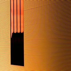 Zero range (Arni J.M.) Tags: orange reflection window lines wall geotagged iceland islandia nikon nikkor geotag hafnarfjrur sland islande islanda 0range geotags hafnarfjordur d80 nikond80 afsnikkor18135mm zerorange bestcapturesaoi 13556ged