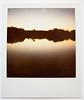 Polaroid : Coucher de soleil (plan d'eau de metz)
