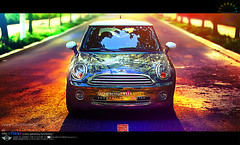 MINI COLOUR () Tags: beautiful pretty goodlook dream space fashion model models energy vitality glamour enchantment enchanting enchant fascination mini bmw colour sunshine sun golden friends holiday summer cooper minicooper flowery rish smile life lifestyle countryside fields gardens pastorale homestead villager vehicle hdr art asia brilliant amazing                       alameda   oad way path meadow lawn grassland colorphotoaward
