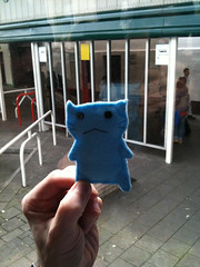 Flimsy doesn't like it when the coach stops at Newport. (Kulabeth) Tags: flimsy