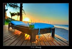 #247/365 Last Caipirinha... (iPh4n70M) Tags: wood blue sunset brazil sun beach colors out relax vent photography soleil photo sand nikon raw photographer photographie wind drink coucher 9 windmills bleu cocktail photograph tc handheld brazilian 365 nikkor plage chill hdr bois caipirinha brésil boisson photographe éoliennes 2470mm transat brésilienne brésilien d700 tcphotography ph4n70m iph4n70m tcphotographie