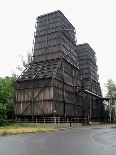Landschaftspark Duisburg-Nord - Cooling towers