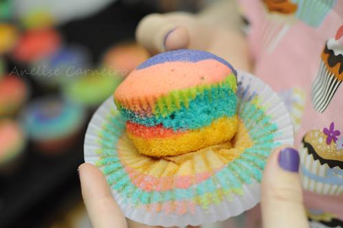 Cupcakes Tie dye / Rainbow