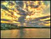 Atardecer en L'Escala (Joordy) Tags: atardecer mar playa paisaje cielo nubes hdr lescala platinumpeaceaward