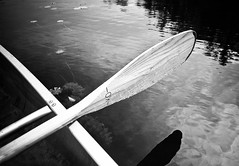 Paddle and Water