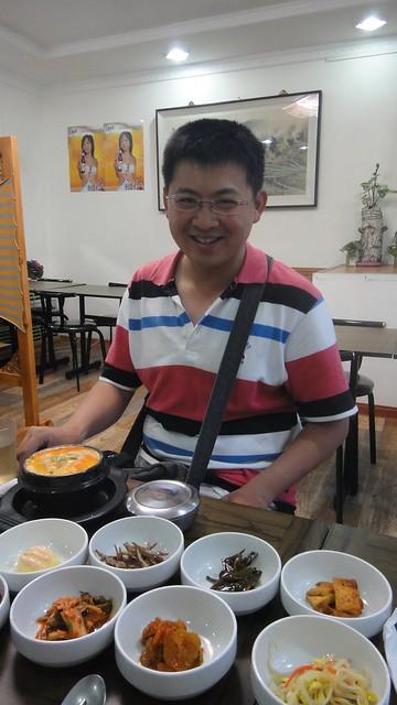 韓式餐廳  小菜很多
