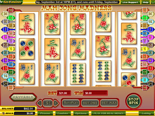Mah Jong Madness slot game online review