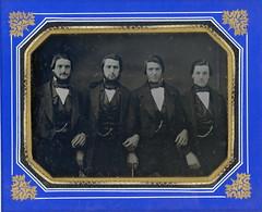 Hafford Brothers by C.E. Howe Nov.25, 1850 (Mirror Image Gallery) Tags: portlandmaine daguerreotype hafford victorianmen cehowe