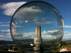 my world in a crystal ball (iseeadarkness) Tags: summer mountain happy estate felice asiago montagna crystalball veneto trescheconca