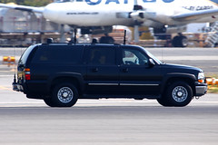 Secret Service ECM Suburban (planephotoman) Tags: cat media secretservice watchtower potus boeingfield motorcade theride sweepers seattlewa bfi tcat thepackage presidentialmotorcade chevroletsuburban rearguard supportvehicles ussecretservice armoreddivision presidentialprotection armoredlimo presidentialmovement tacticalcounterassaultteam counterassaultteam