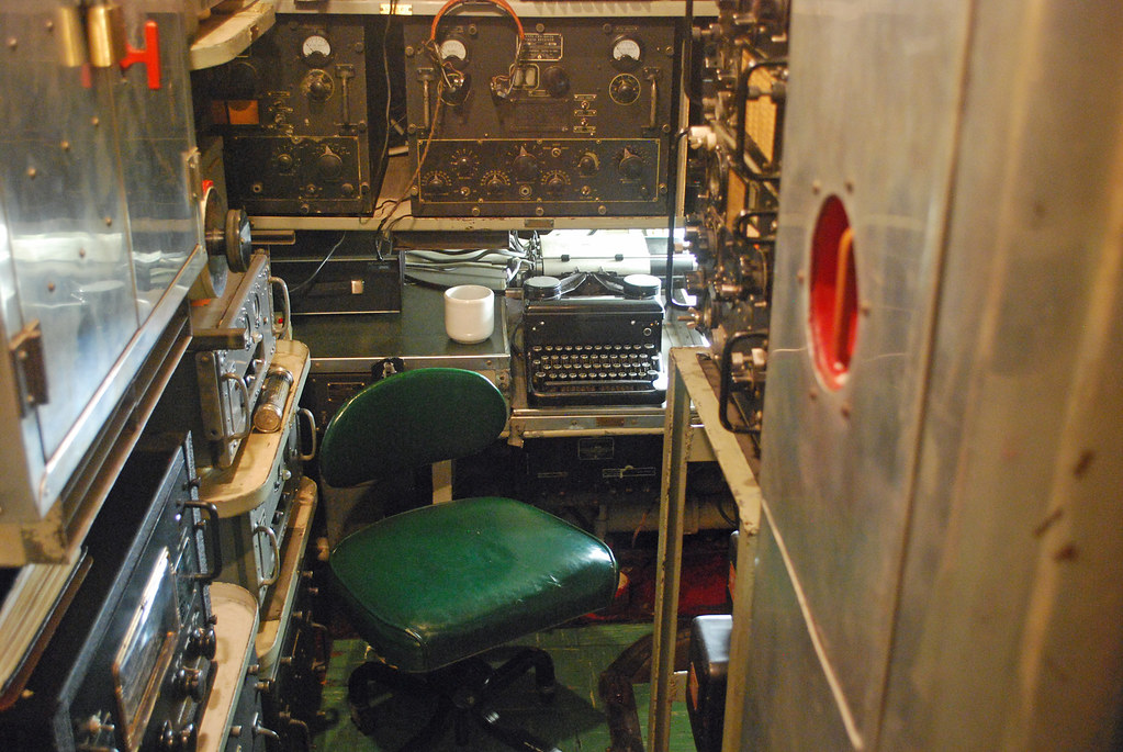 USS Cod Radio Room