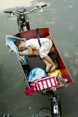 asleep in bakfiets (@WorkCycles) Tags: sleeping picnic child asleep cargobike bakfiets workcycles