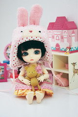 Lati Yellow Belle (Cyristine) Tags: yellow ball miniatures doll belle bjd rement jointed grownup lati