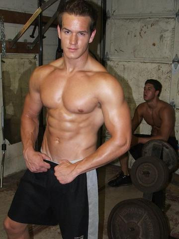 Fitness muscle hunk