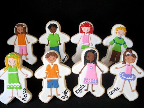 Customized Kids Cookie Favors