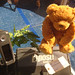 LOST Auction - sat radio, young Charlotte's teddy bear, Expose stuff