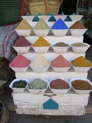 Spices in Aswan