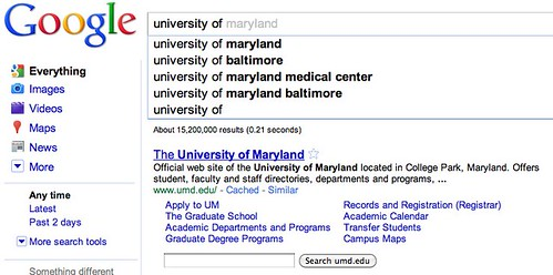 university of maryland - Google Search