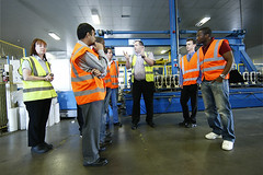 Study Visit to Eurobond Laminates (Glamorgan Business School) Tags: school students university business glamorgan logistics laminates eurobond