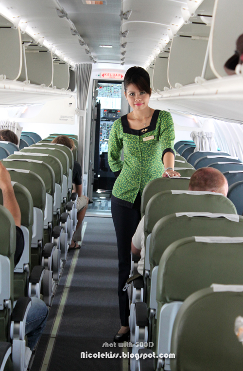 mulu airport stewardess