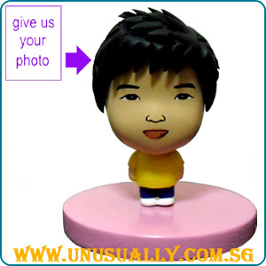 Custom Caricature Cartoon Feel Yellow Mini Doll