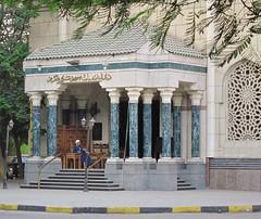 Man in the Mosque (Mondmann) Tags: man muslim islam prayer religion egypt middleeast mosque cairo mondmann canonpowershots90