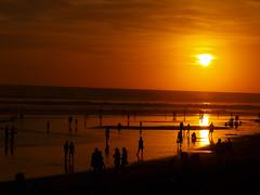 Sunset Seminyak Bali (*Daantje*) Tags: sunset bali sun beach strand zonsondergang zon seminyak