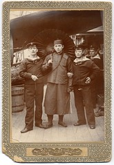Austro-Hungarian Sailors In China (josefnovak33) Tags: china cabinet card boxer rebellion sailor austrohungarian