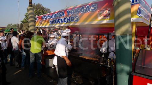 Anticuchos Grimanesa Vargas - Mistura 2010
