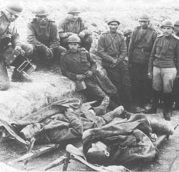 soldats russes en France 1916