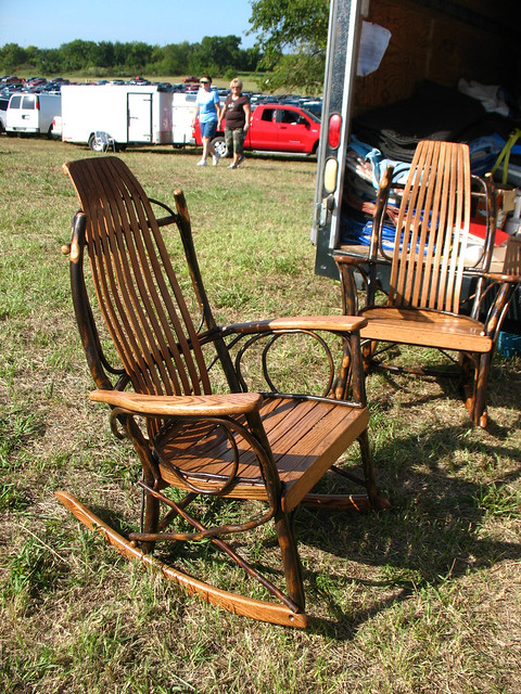 amish bent wood rockers